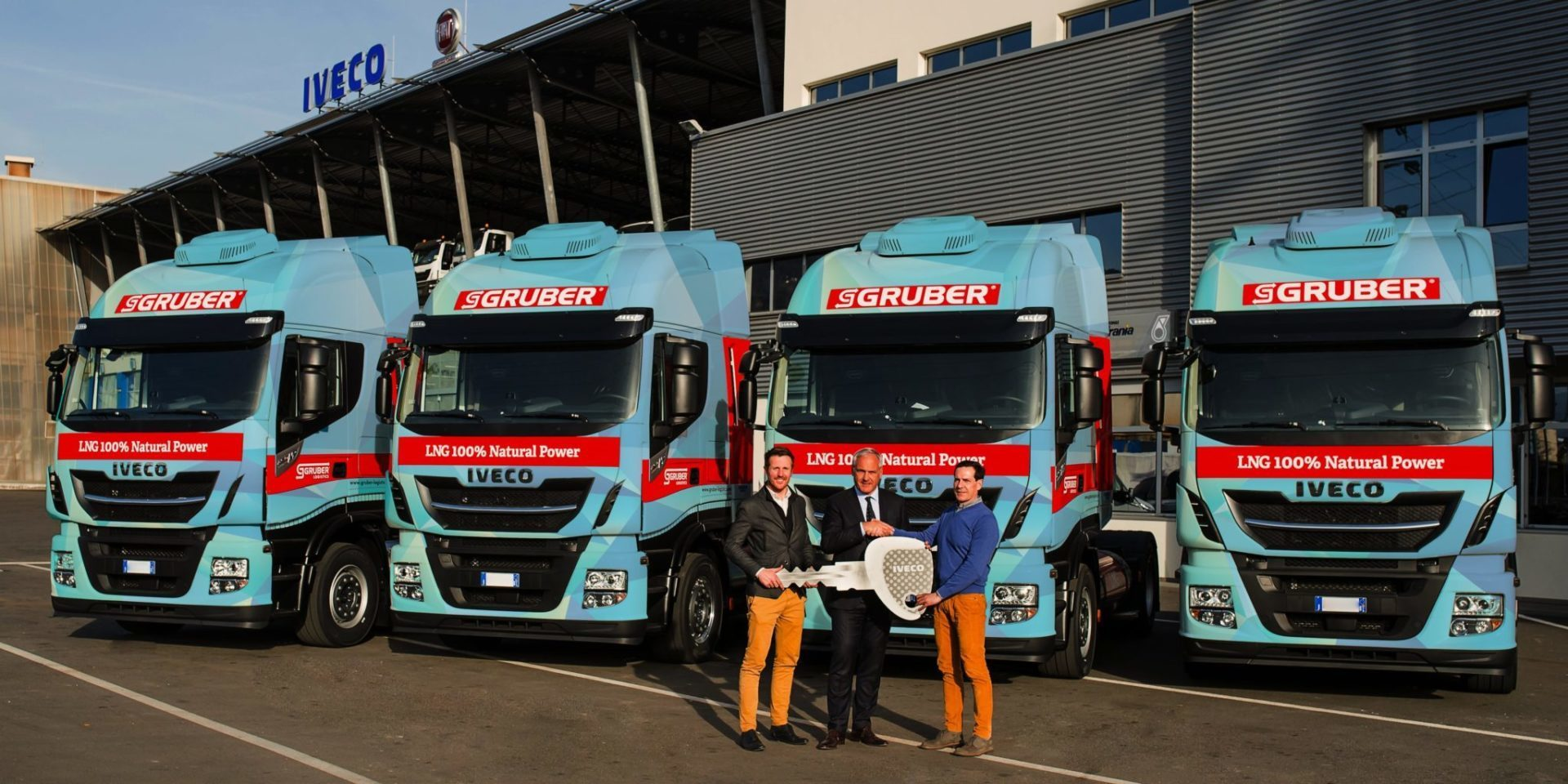 GRUBER Logistics invests in LNG technology to reduce the ecological footprint of its fleet