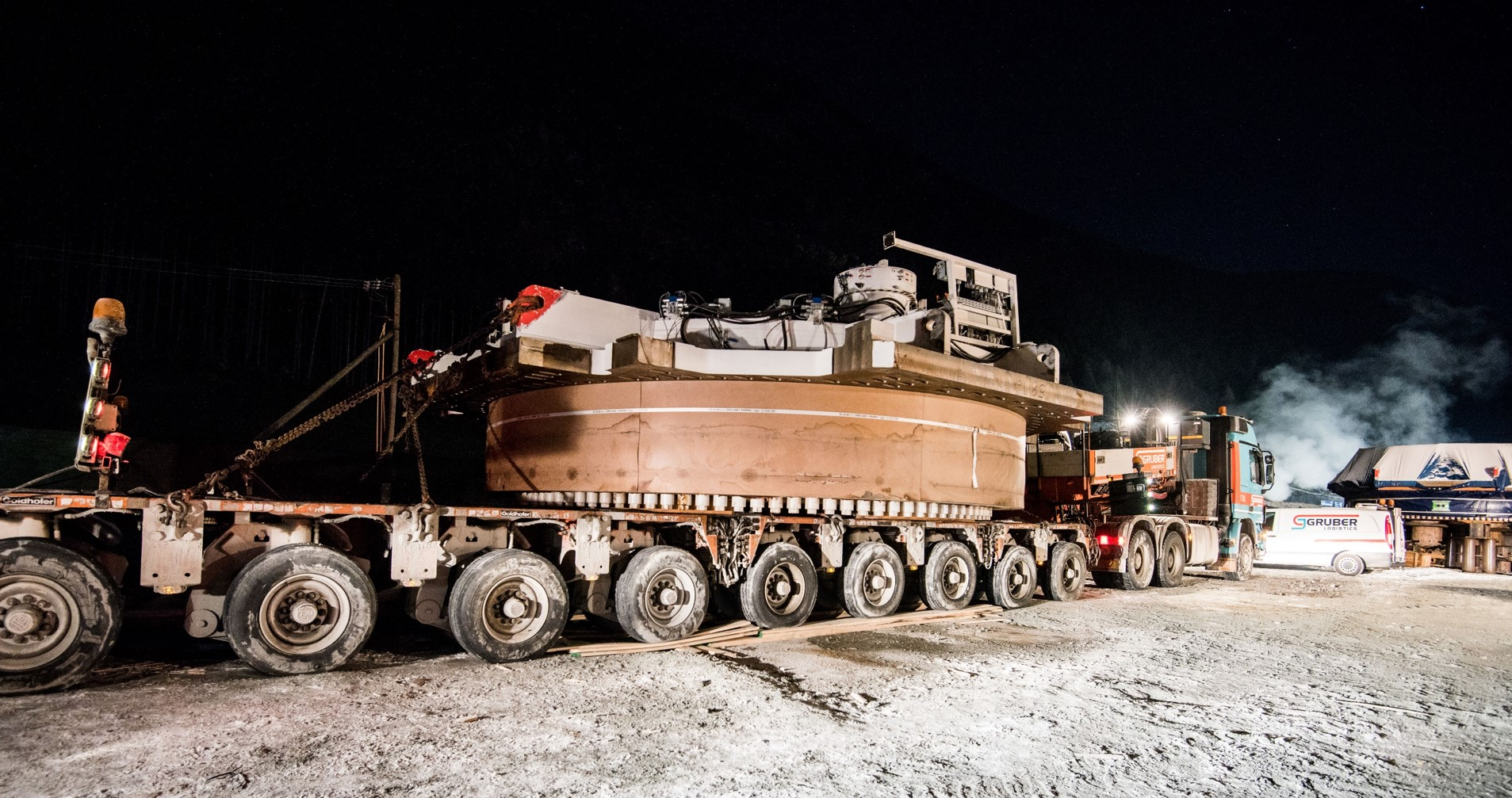 Transports for the Brenner Base Tunnel go on