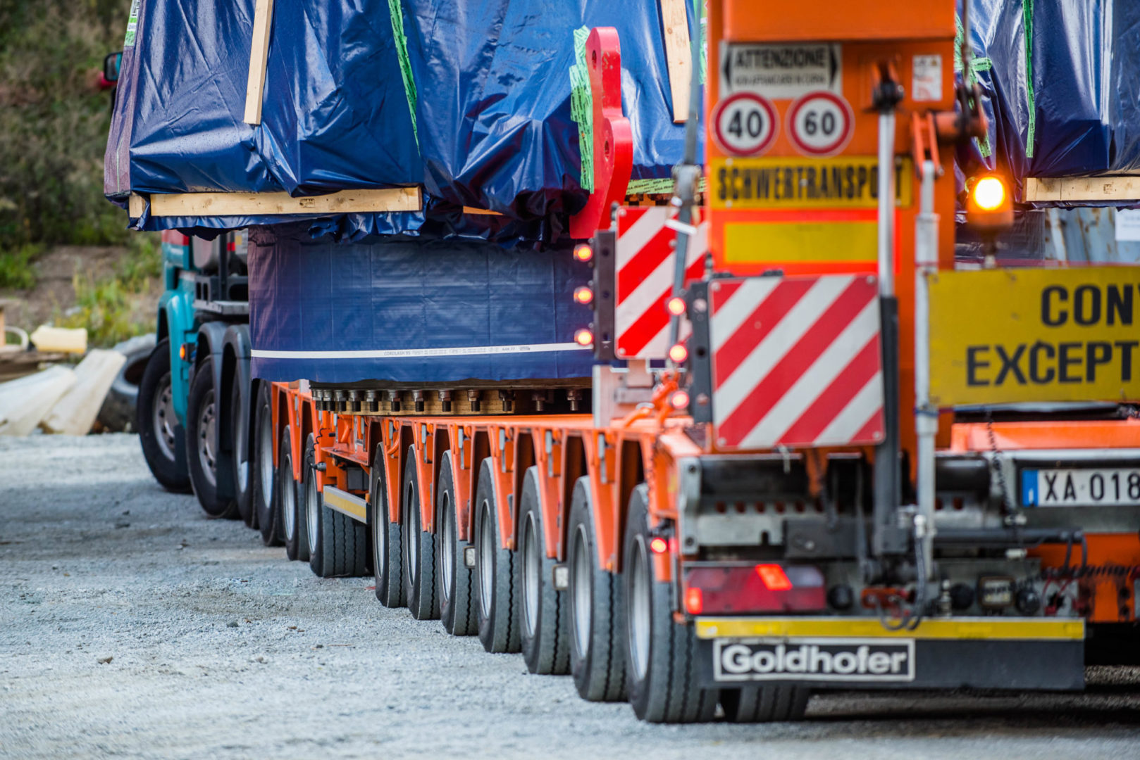 GRUBER Logistics takes part in the project for the construction of the Brenner Base Tunnel