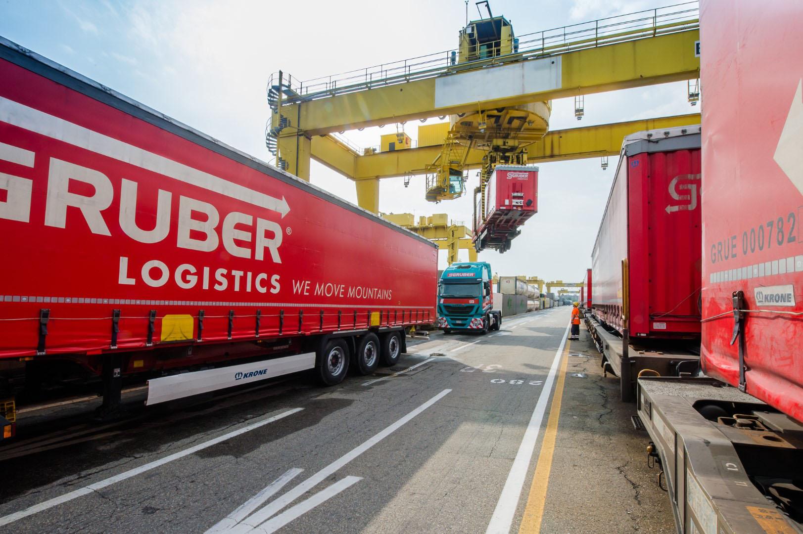 Gruber Logistics Hupac 11849 1 - FTL - Full truck loads
