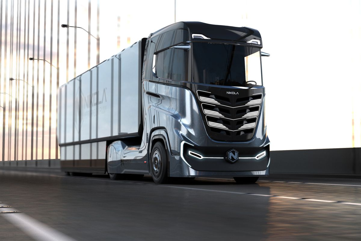 GRUBER Logistics is the first company in Europe to purchase hydrogen-powered trucks for international transports